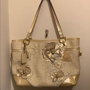 Coach Golden Flower Bag